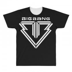 big bang k pop white All Over Men's T-shirt | Artistshot