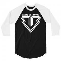 big bang k pop white 3/4 Sleeve Shirt | Artistshot