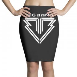 big bang k pop white Pencil Skirts | Artistshot