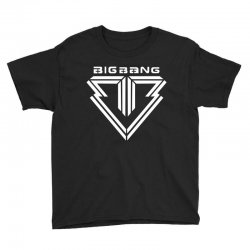 big bang k pop white Youth Tee | Artistshot