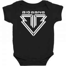 big bang k pop white Baby Bodysuit | Artistshot