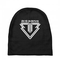 big bang k pop white Baby Beanies | Artistshot
