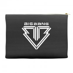 big bang k pop white Accessory Pouches | Artistshot