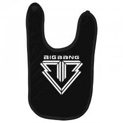 big bang k pop white Baby Bibs | Artistshot
