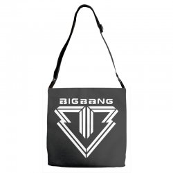 big bang k pop white Adjustable Strap Totes | Artistshot