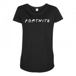 fortnite of the friends parody Maternity Scoop Neck T-shirt | Artistshot