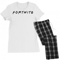 fortnite of the friends parody black Women's Pajamas Set | Artistshot