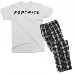 fortnite of the friends parody black Men's T-shirt Pajama Set | Artistshot