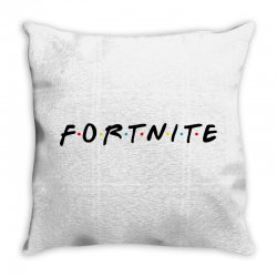 fortnite of the friends parody black Throw Pillow | Artistshot