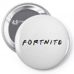fortnite of the friends parody black Pin-back button | Artistshot