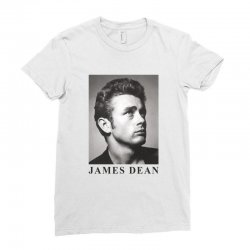 james dean Ladies Fitted T-Shirt | Artistshot