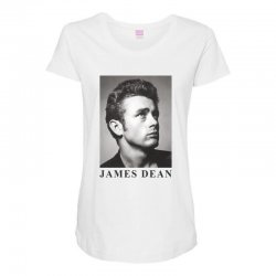 james dean Maternity Scoop Neck T-shirt | Artistshot