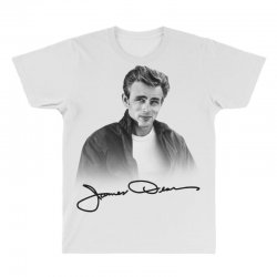james dean with signature All Over Men's T-shirt | Artistshot