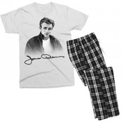 james dean with signature Men's T-shirt Pajama Set | Artistshot