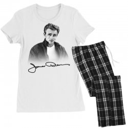 james dean with signature Women's Pajamas Set | Artistshot