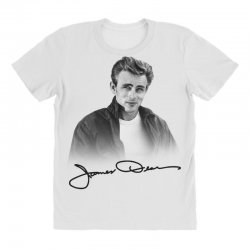james dean with signature All Over Women's T-shirt | Artistshot