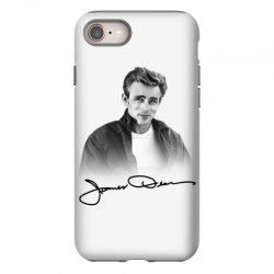james dean with signature iPhone 8 Case | Artistshot
