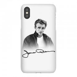 james dean with signature iPhoneX Case | Artistshot