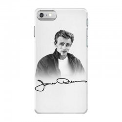 james dean with signature iPhone 7 Case | Artistshot