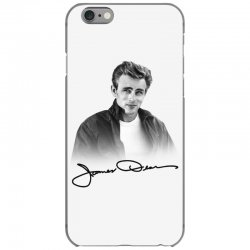 james dean with signature iPhone 6/6s Case | Artistshot