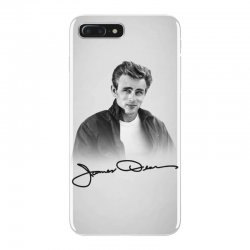 james dean with signature iPhone 7 Plus Case | Artistshot