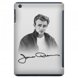 james dean with signature iPad Mini Case | Artistshot