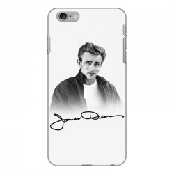 james dean with signature iPhone 6 Plus/6s Plus Case | Artistshot