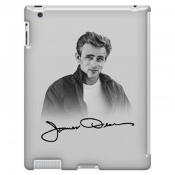james dean with signature iPad 3 and 4 Case | Artistshot