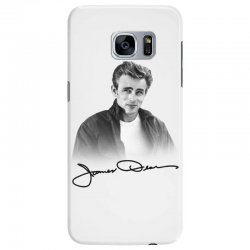 james dean with signature Samsung Galaxy S7 Edge Case | Artistshot