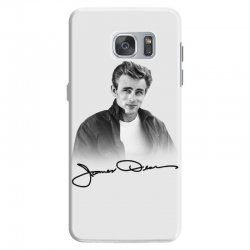 james dean with signature Samsung Galaxy S7 Case | Artistshot