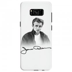 james dean with signature Samsung Galaxy S8 Case | Artistshot