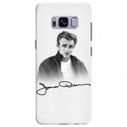 james dean with signature Samsung Galaxy S8 Plus Case | Artistshot