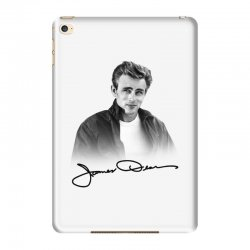 james dean with signature iPad Mini 4 Case | Artistshot