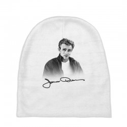 james dean with signature Baby Beanies | Artistshot