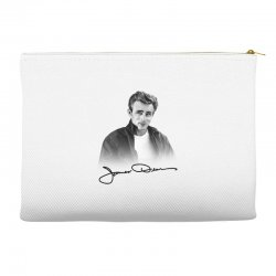 james dean with signature Accessory Pouches | Artistshot