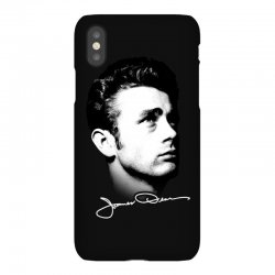james dean with signature v.2 iPhoneX | Artistshot