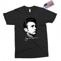 james dean with signature v.2 Exclusive T-shirt | Artistshot