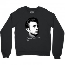 james dean with signature v.2 Crewneck Sweatshirt | Artistshot