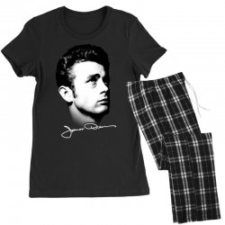 james dean with signature v.2 Women's Pajamas Set | Artistshot