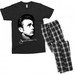 james dean with signature v.2 Men's T-shirt Pajama Set | Artistshot