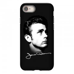 james dean with signature v.2 iPhone 8 | Artistshot