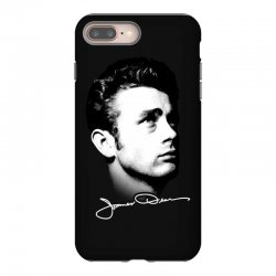 james dean with signature v.2 iPhone 8 Plus | Artistshot
