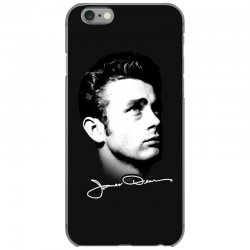 james dean with signature v.2 iPhone 6/6s Case | Artistshot