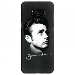 james dean with signature v.2 Samsung Galaxy S8 | Artistshot