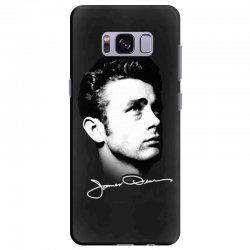 james dean with signature v.2 Samsung Galaxy S8 Plus | Artistshot