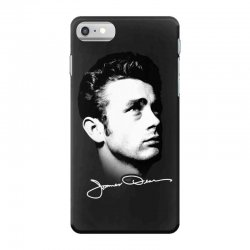 james dean with signature v.2 iPhone 7 Case | Artistshot