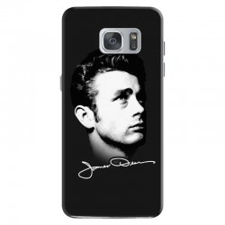james dean with signature v.2 Samsung Galaxy S7 | Artistshot