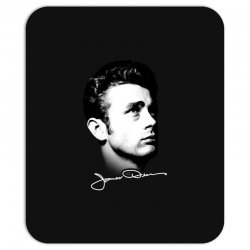 james dean with signature v.2 Mousepad | Artistshot