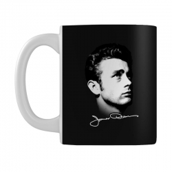 james dean with signature v.2 Mug | Artistshot