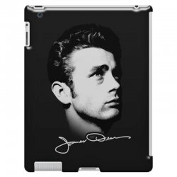 james dean with signature v.2 iPad 3 and 4 Case | Artistshot